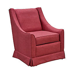 The 1st Chair™ Darcy Swivel Glider Chair in Blaze of Glory