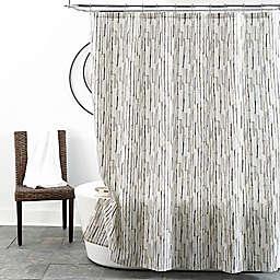 Modern Stripe 72-Inch x 72-Inch Shower Curtain in Neutral