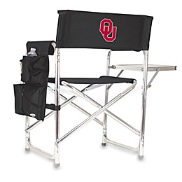 Picnic Time® University of OklahomaCollegiate Folding Sports Chair in Black