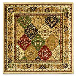 Safavieh Lyndhurst Diamond Patchwork 8-Foot x 8-Foot Square Rug in Ivory/Multi