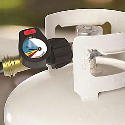 Just Grillin' Lighted Propane Tank Gauge in Black