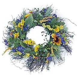 Boston International 24-Inch Sunny Day Wreath