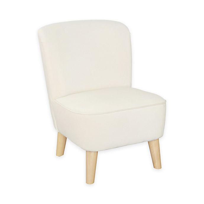Alternate image 1 for Karla Dubois Juni Ultra Comfort Kids Chair Pine Construction Upholstered Chair