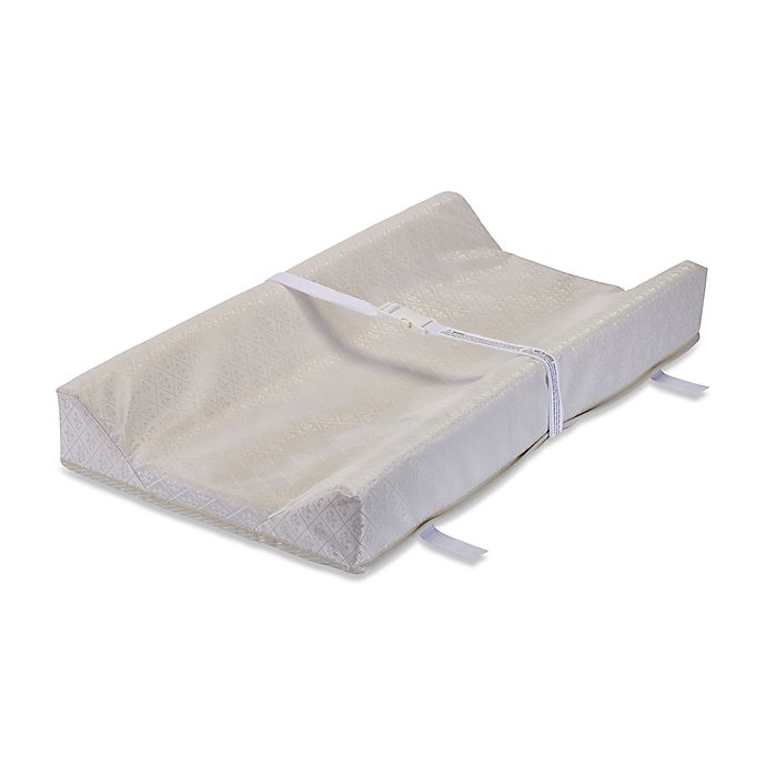 Alternate image 1 for LA Baby® 34-Inch Contour Changing Pad with Organic Cotton Layer