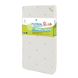 L.A. Baby® Natural Soy Foam 2-In-1 Crib Mattress