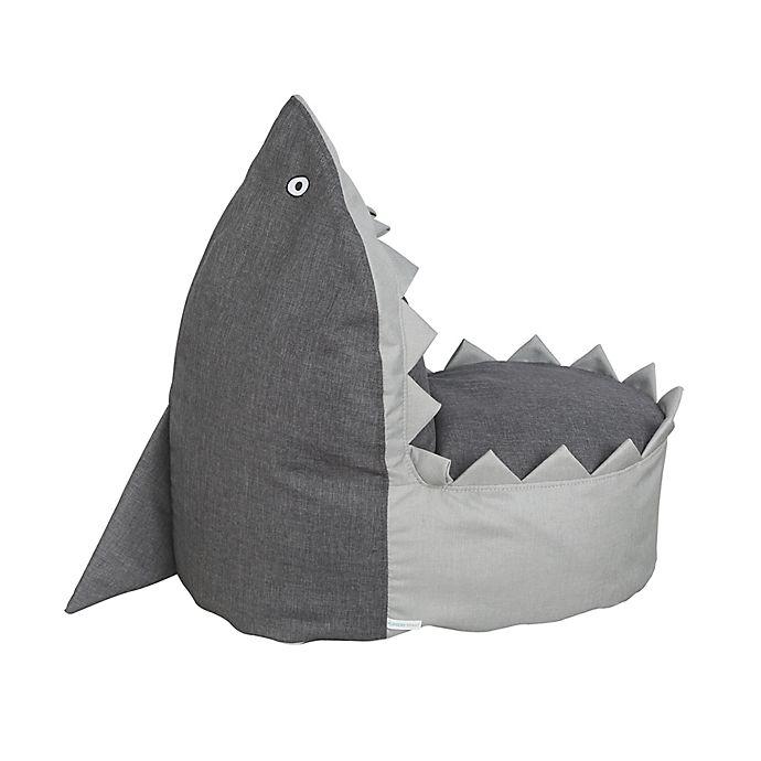 Alternate image 1 for Nursery Smart Sharky the Shark Kid's Bean Bag Chair