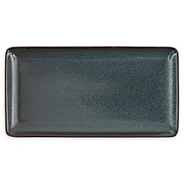 D&V® Stõn 9-Inch Rectangular Tray in Twilight (Set of 6)