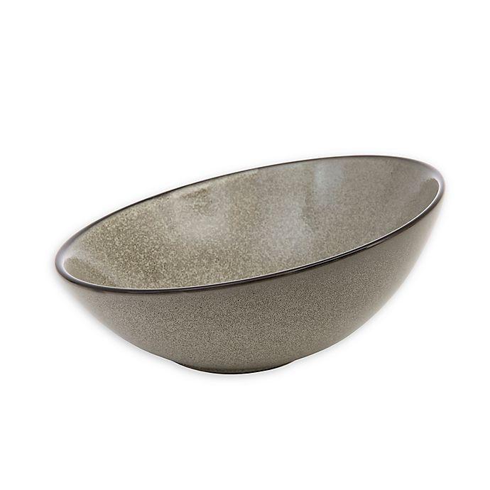 Alternate image 1 for D&V® Stõn 8.5-Inch Tilt Bowl in Mist (Set of 3)