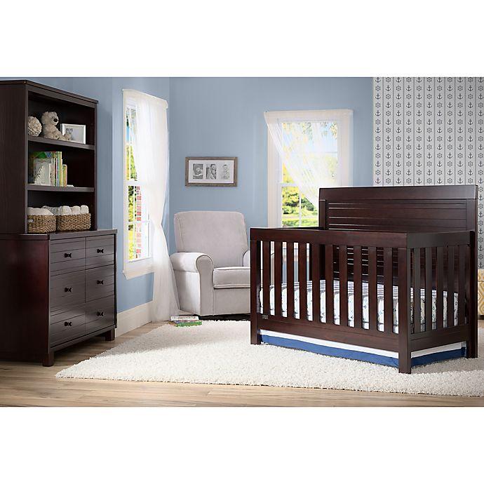 Simmons Kids Slumbertime Rowan Nursery Furniture Collection In Espresso
