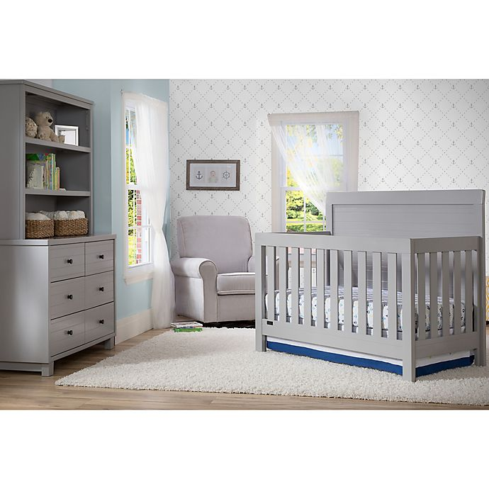 Simmons Kids Slumbertime Rowen Nursery Furniture Collection In Grey