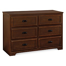 DaVinci Charlie Homestead 6-Drawer Double Dresser in Espresso