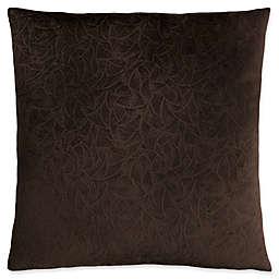 Monarch Specialties Floral Velvet Square Decorative Pillow