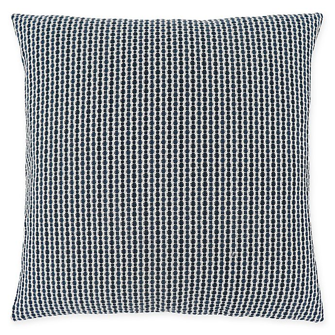 Alternate image 1 for Monarch Specialties Abstract Dot Square Decorative Pillow in Blue