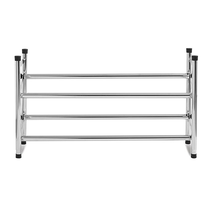 Alternate image 1 for 2-Tier Expandable Shoe Rack