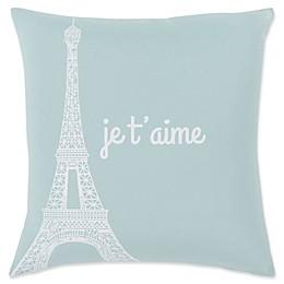 Surya Motto Novelty Square Throw Pillow