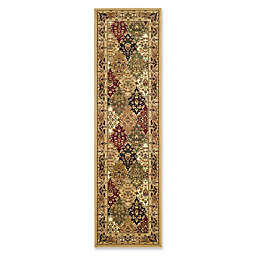 Safavieh Lyndhurst Diamond Patchwork 2-Foot 3-Inch x 12-Foot Runner