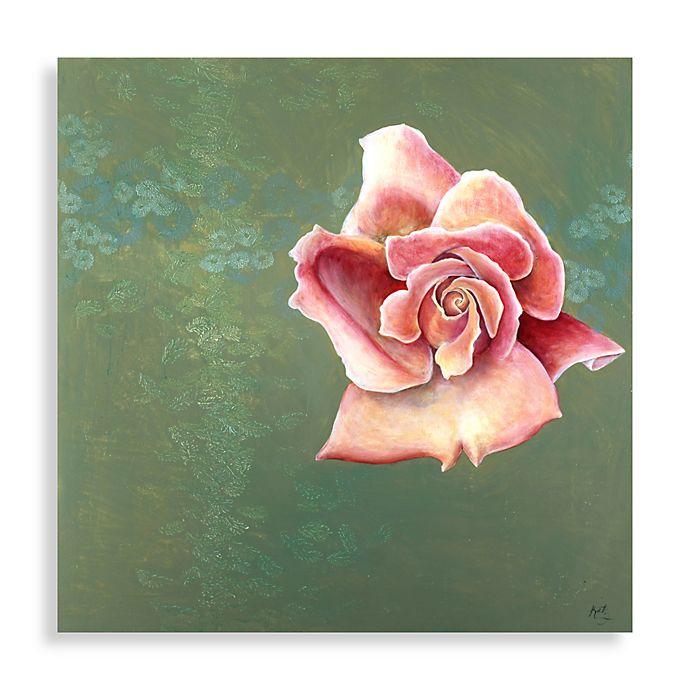 Pink Rose Wall Art Bed Bath Beyond