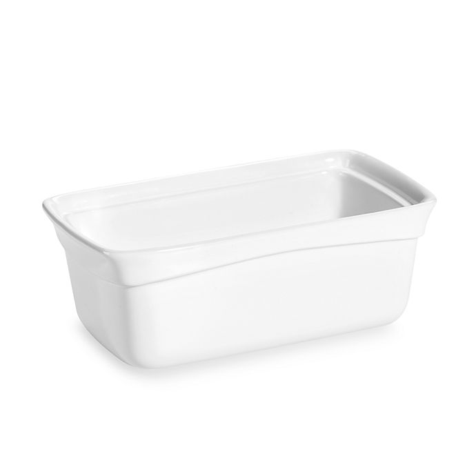 Alternate image 1 for Wilton® Indulgence® Professional Stoneware 9-Inch x 5-Inch Loaf Pan