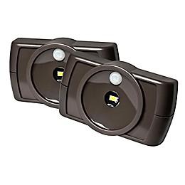 Battery-Powered Slim LED Lights (Set of 2)