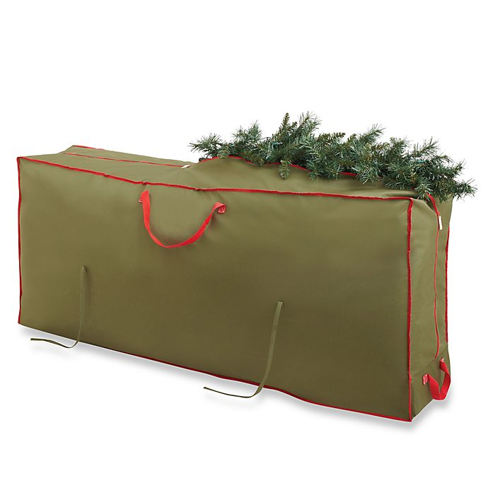 Real Simple Holiday Deluxe Tree Storage Bag With Wheels Bed Bath
