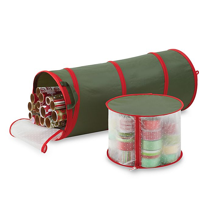 Alternate image 1 for Real Simple® Pop-up Gift Wrap & Ribbon Organizer
