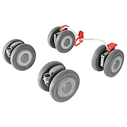Maclaren® Techno XLR Front and Rear Wheels in Silver