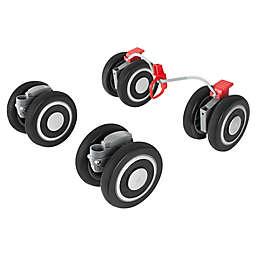Maclaren® Techno XT Front and Rear Wheels in Black/Silver