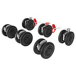 Maclaren® Twin Techno Front and Rear Wheels in Black/Silver