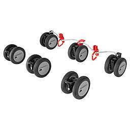 Maclaren® Twin Triumph Front and Rear Wheels in Black/Silver