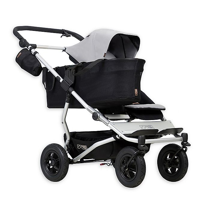 Alternate image 1 for Mountain Buggy® Duet Single Stroller in Silver