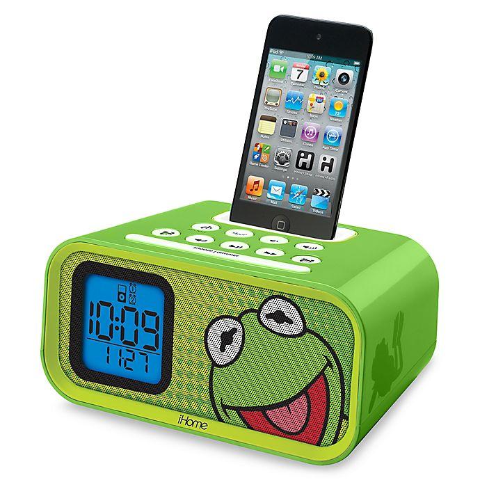 Alternate image 1 for iHome® Disney Loves Dual Alarm Clock Speaker System