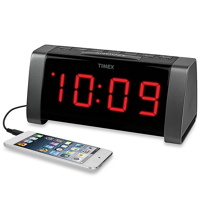 Jumbo Display Dual Alarm Clock Radio