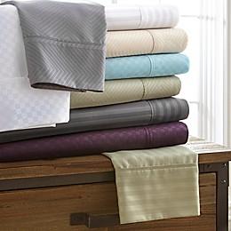 Home Collection Checkered Sheet Set