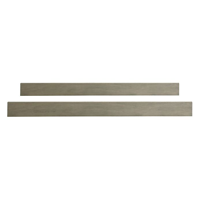 Alternate image 1 for Bassettbaby® PREMIER Space Saver Destin Full Size Bed Rails in Taupe