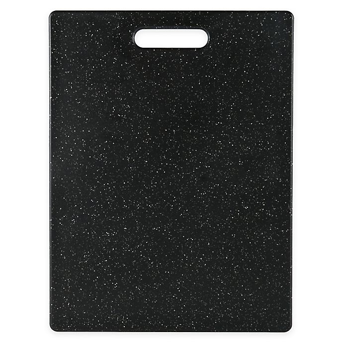 Alternate image 1 for Dexas® 11-Inch x 14.5-Inch Superboard Cutting Board in Midnight Granite