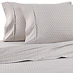 Home Collection Honeycomb King Sheet Set in Light Grey