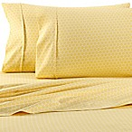 Home Collection Honeycomb Full Sheet Set in Yellow