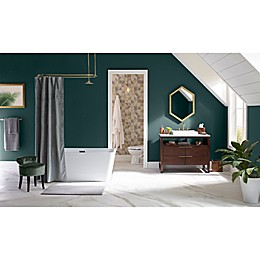 Mid-Century Modern Luxe Bathroom