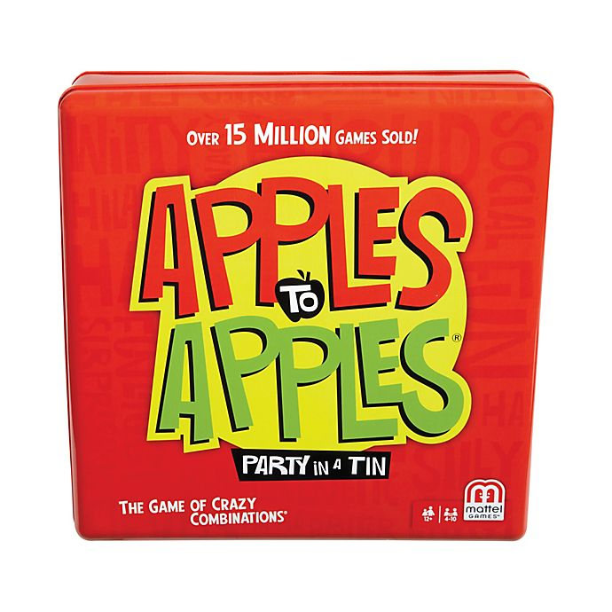 Alternate image 1 for Mattel® Apples to Apples Party Game Tin