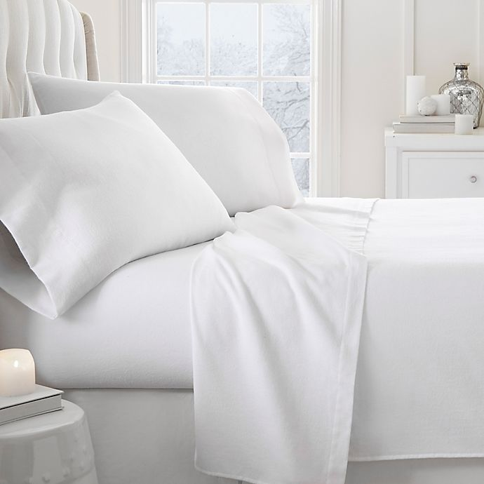 Home Collection Ultra Soft Flannel Sheet Set Bed Bath Beyond
