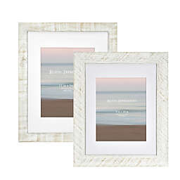 Bee & Willow™ Home Matted Textured Wood Frame in White