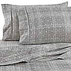 Home Collection Polka Dot Queen Sheet Set in Grey