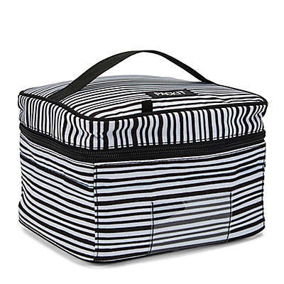 PACKiT® Freezable Baby Bottle Cooler in Black/White Wobbly Stripe