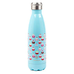 Manna™ Vogue® 17 oz. Stainless Steel Double Wall Water Bottle in Cupcakes