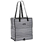 PACKiT® Freezable Grocery Tote in Navy Buffalo