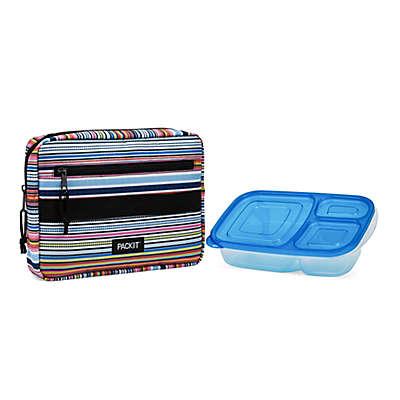 PACKiT® Freezable Blanket Stripe Bento Box