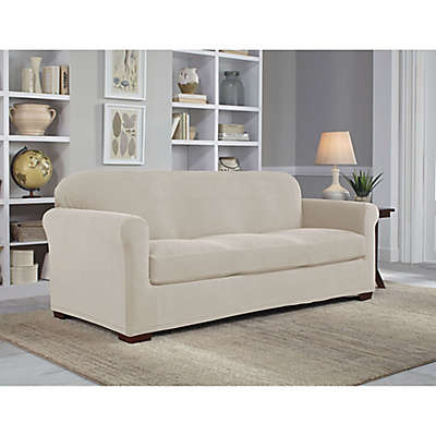 Perfect Fit® NeverWet Luxury 2-Piece Sofa Slipcover