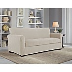 Perfect Fit® NeverWet Luxury 3-Piece Sofa Slipcover in Putty
