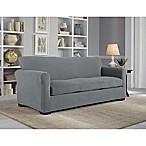 Perfect Fit® NeverWet Luxury 3-Piece Sofa Slipcover in Grey