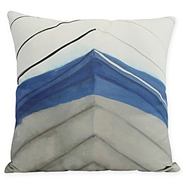 E by Design Boat Bow Center Square Throw Pillow